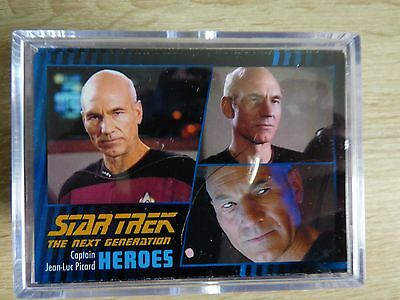 Star Trek TNG Heroes & Villains (2013) - Complete Base TC Set (100 Cards)