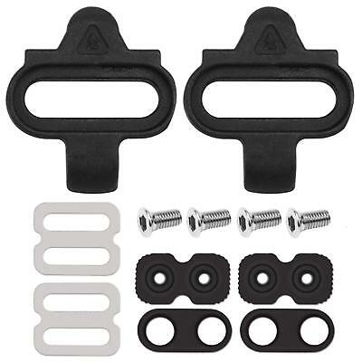 AB/_ 2Pcs Road Bike Bicycle Self-locking Pedal Cleats Set Outfits for Shimano Uti