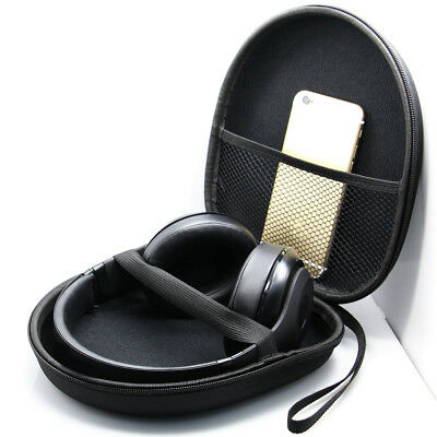 Headset Carry Pouch Box Headphone Earphone Case for Sony MDR-1R, MDR-1RMK2