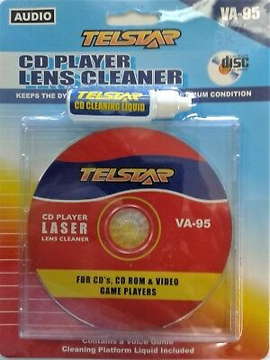 Disc Cleaner Solution  Home Car Stereos, Cd Rom Game System Cd Dvd Player