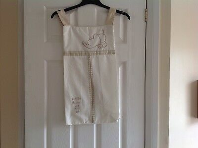 Hanging baby nappy holder