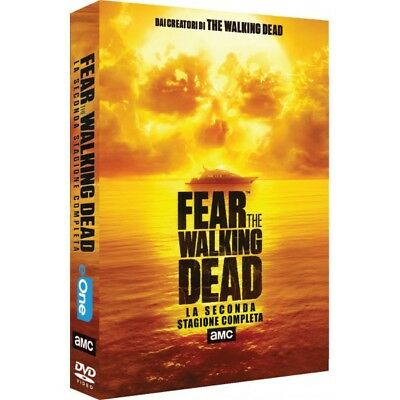 Cofanetto Fear The Walking Dead - Stagione 02 (4 Dvd) Serie Tv Dvd Nuovo-351610