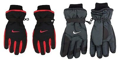 New Nike Boys Youth One Size 8-20 Winter Ski Gloves Choose Color MSRP $28.00