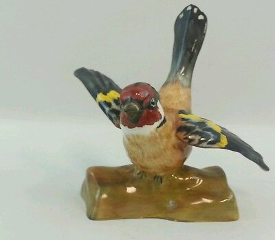Crown Staffordshire England Bird Red Head Made In England