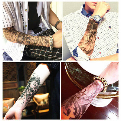 4 pcs Temporary Tattoo Henna Design Waterproof  Sticker Transfer Fake Tattoo