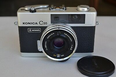 Konica C35 Automatic Compact Full Frame 35mm Camera