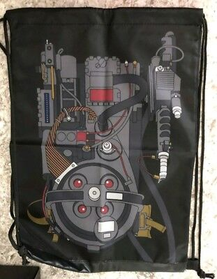 Loot Crate Exclusive - Ghostbusters Drawstring Backpack- Brand New Proton Pack!