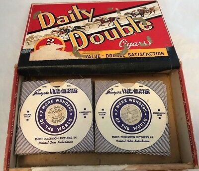 Large Lot 30 x Very Old Vintage Sawyer's Viewmaster Reels, USA America Canada