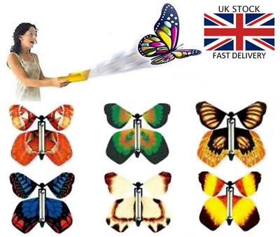 Funny Flying Butterfly Card Prank Birthday Card Surprise Greetings Card Prank