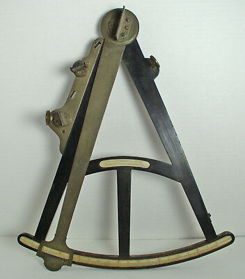 Antique Ebony Quadrant Octant Sextant ~ 1795 Dring & Fage