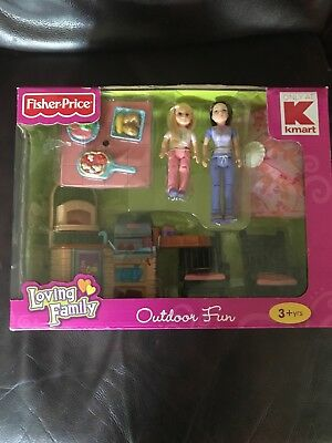 Fisher-Price kmart exclusive Loving Family Outdoor fun rare hard to find
