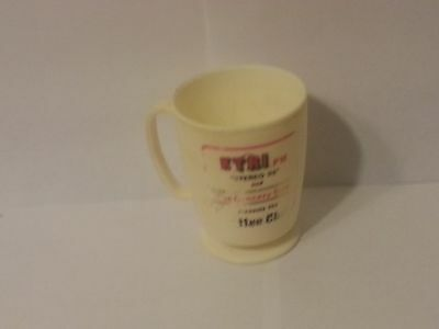 Vintage Whirley Industries Coffee Cup for KTRI FM, Good Condition