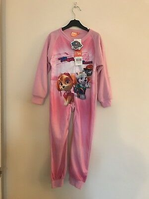 Paw Patrol Girls All In One Nightwear Age 5 New With Tags
