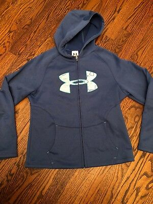 under armour zip hoodie Youth Large