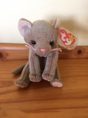 efa2569bde3 Beanie Baby Cat Scat 1998 with Hang tag and date error Mint condition