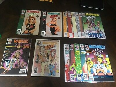 Married With Children Comic Book Collection (Jun 1990, 1st & 2nd Series) N/M