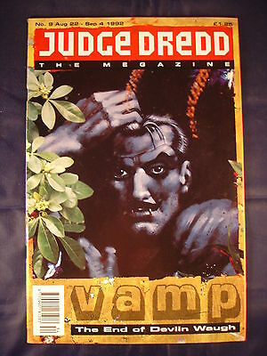 Judge Dredd Megazine - Issue 9 - Aug 22 - Sep 4, 1992