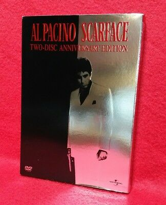 Al Pacino Scarface Two-Disc Anniversary Edition DVD Movie Widescreen
