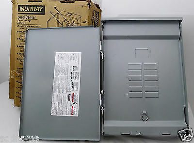 Murrary LW1224L1125 Outdoor 3R 125 Amp Main Lug Load Center 12 space 24 circuits