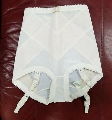Vintage Pin Up Panty Girdle A Gossard Original 401 L  Small garters those NWT