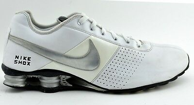brand new a7a2e 326c4 low price nike shox deliver mens white navy red cabd3 16ed6