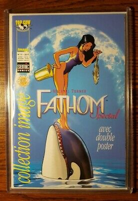Michael Turner Fathom Special Collection Image (Rare Euro Edition) Pin-up poster