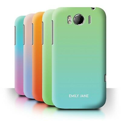 Personalised Custom Ombre Colours Phone Case for HTC Sensation XL/G21/Cover
