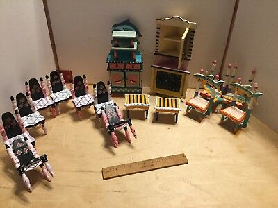 """Great big lot of """"eye candy"""" painted furniture,NOS"""
