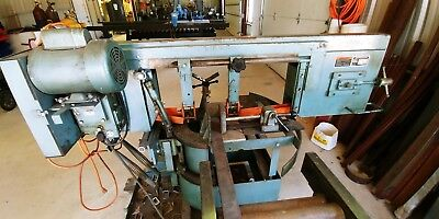 """Ellis Mitre Saw 8"""" with extra blades and roller tables-Good condition"""