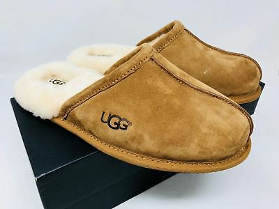UGG Men's Scuff Slipper Select Sizes Chestnut Suede