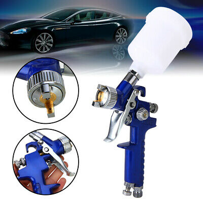 0.8mm/1.0mm Nozzle Pro HVLP Air Paint Sprayer Airbrush For Car Auto Painting