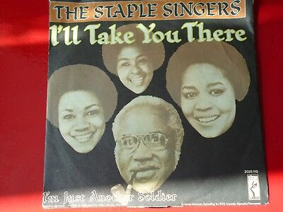THE STALE SINGERS - I´LL TAKE YOU THERE - Stax 2025 110  - P1972