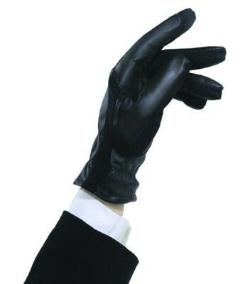 (B, Black) - Ovation Sport Ladies Stretch Side Panel Show Glove. Free Delivery