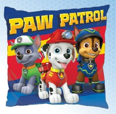 PAW PATROL PUPS Chase Marshall Rocky cushion cover 40x40cm pillow cover