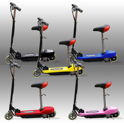 New KIDS E SCOOTERS RIDE ON ELECTRIC 120W BATTERY CHILDRENS SCOOTER