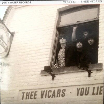 Thee Vicars - You Lie / Gonna See Me Again Garage Punk Beat Mod 7""