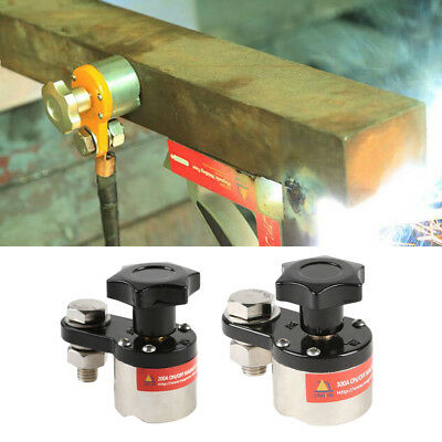 Magnetic Welding Ground Device Clamp Fixture Magnet Connector Industrial