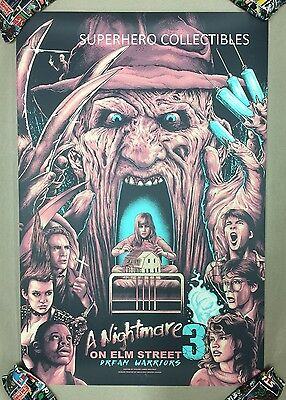 A Nightmare on Elm Street Screen Print Poster #15/40 by Holliday not Mondo