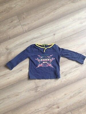 2b57a8d53862 ... baby boy 18-24 months Ted Baker long sleve top t shirt good condition  half ...