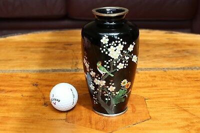 Stunning Japanese Cloisonne Vase - probably by Inaba - no signature