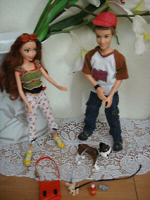 Mattel My Scene Out & About Chelsea And Hudson 2er Gift Geschenk Set