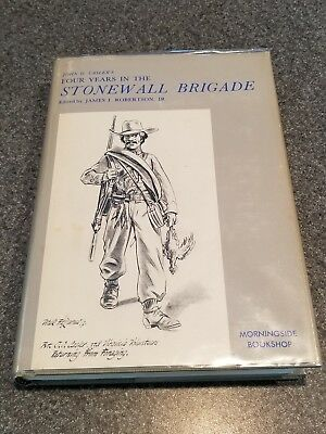 Four Years In The Stonewall Brigade, hardcover, 1971