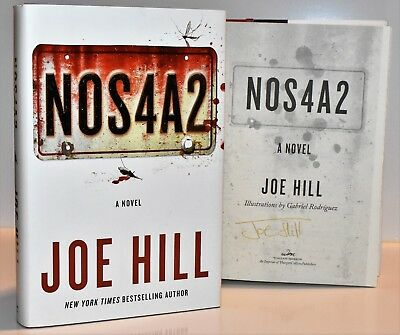 ✎✎SIGNED 1st Print/1st Edition ✎✎ NOS4A2  AUTOGRAPHED  by Joe Hill NEW HX
