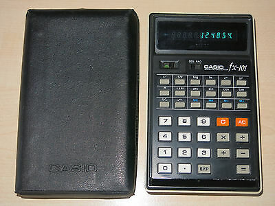 Casio fx-101 Scientific Calculator Taschenrechner