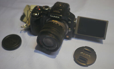 Panasonic lumix DMC-G5 with G Vario 14-42 kit lens and accessories