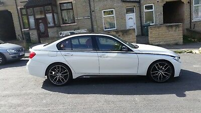 2013 Bmw 320d M Sport F30 M Performance In White With Red Leather