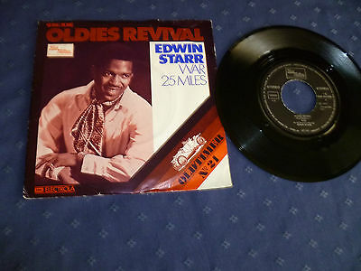 "7"" Single: Edwin Starr - War / 25 Miles (""Oldies Revival, Oldtimer No.21"")"