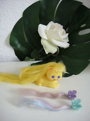 Lady Lockenlicht Lady Lovely Locks Mattel Doll : Katze Cat Sunny Soft gelbe Katz