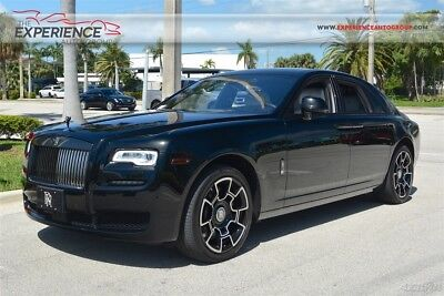 Rolls-Royce Ghost Black Badge Bespoke Audio Silver Pinstripe Rear Theater Assistance 3 Starlight Picnic Tables