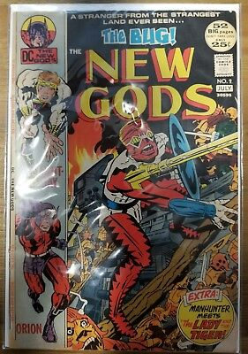 The New Gods #9 (July 1972) Jack Kirby/mike Royer Dc Bronze Age Comic